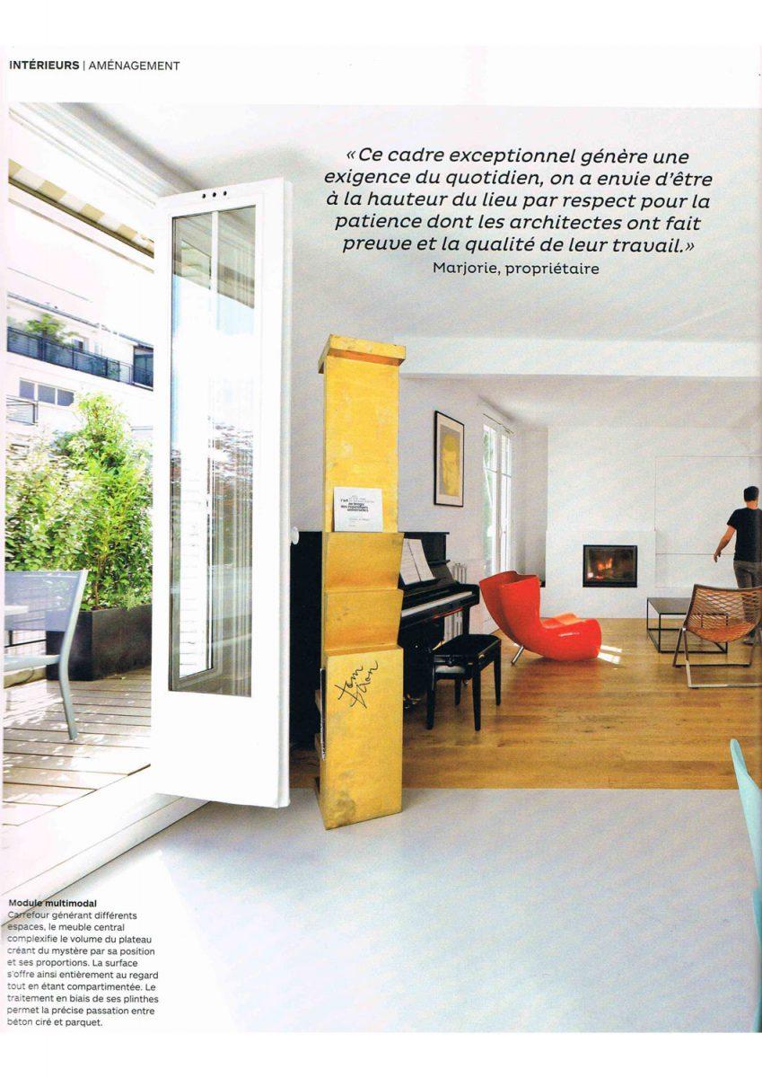 Parution de Décaum dans le magazine A Vivre en 2e page
