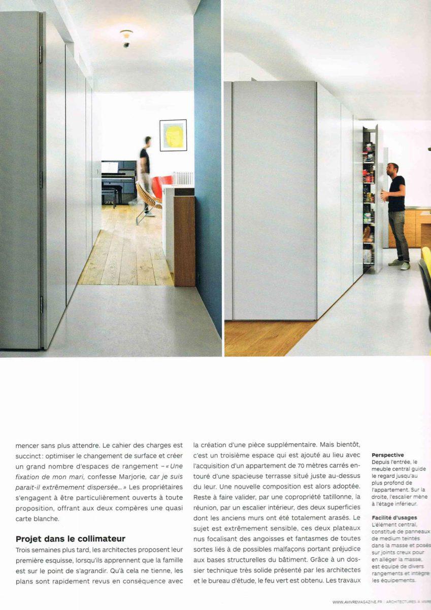 Parution de Décaum dans le magazine A Vivre en 3e page