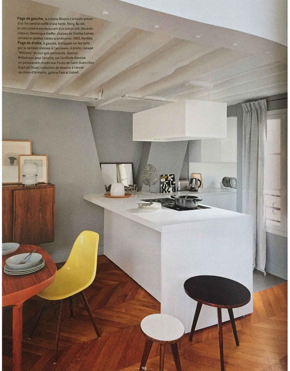 Parution de Décaum dans le magazine Côté Paris en 2e page