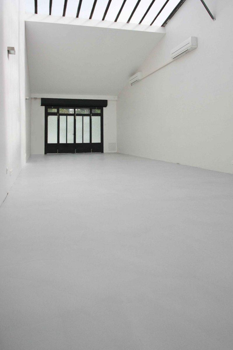 béton ciré taloché studio photo Décaum Paris