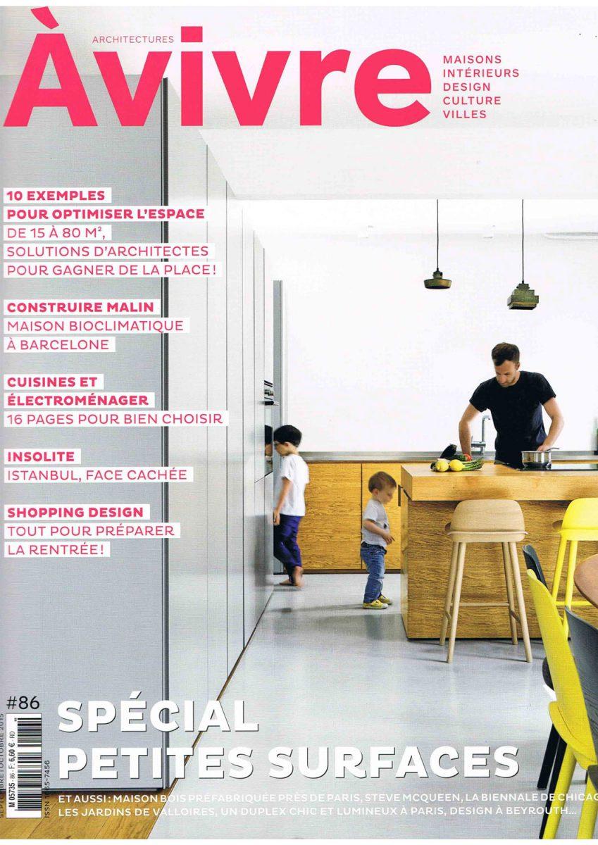 Parution de Décaum dans le magazine A Vivre en page de couverture